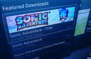 Sonic Adventure sur Xbox 360 ?