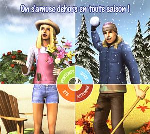 Une fin d'année en Sims