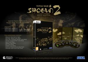 Total War : Shogun 2 se met à l'or