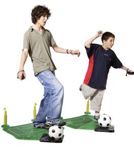 Le foot, ça se joue avec les pieds
