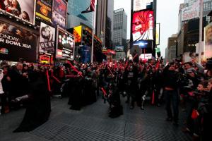 Star Wars s'invite à Times Square