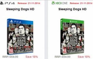 Sleeping Dogs porté sur PlayStation 4 et Xbox One ?