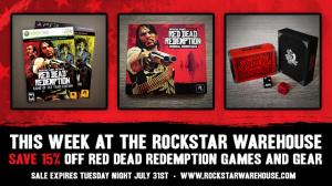 Red Dead Redemption en solde chez Rockstar