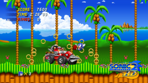 Sonic 2 se paye un lifting
