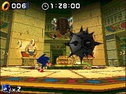 Sonic à fond sur Nintendo DS