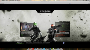 "Splinter Cell Blacklist : Un site Internet pour ""jouer"" au multi"