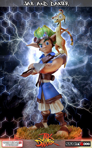 Une statue collector de Jak and Daxter