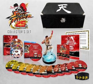 Un coffret limité pour les 25 ans de Street Fighter