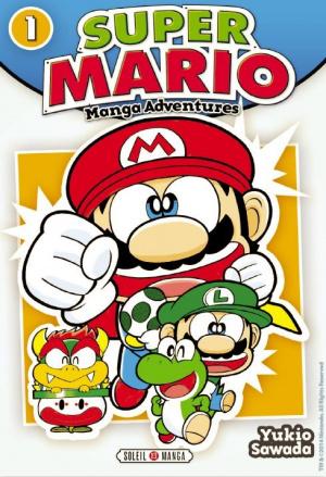 Le manga Super Mario bientôt édité en France