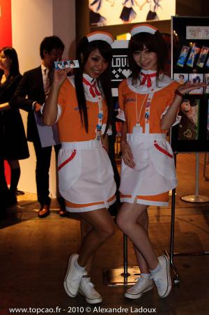TGS 2010 : Les babes !