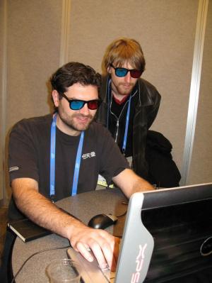 GDC 08 : Trackmania en 3D
