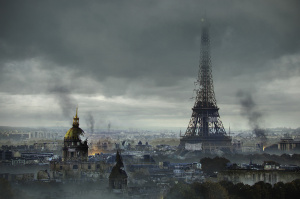 Paris défiguré par The Last of Us