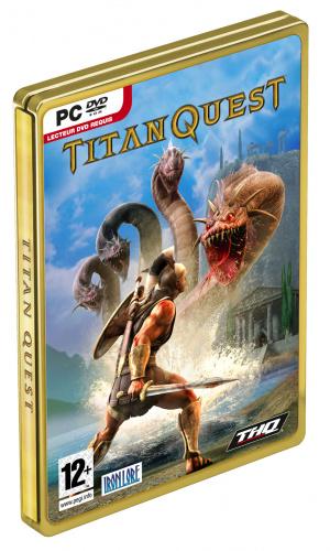 Passage en gold : Titan Quest rayonne