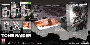 Trois éditions pour Tomb Raider