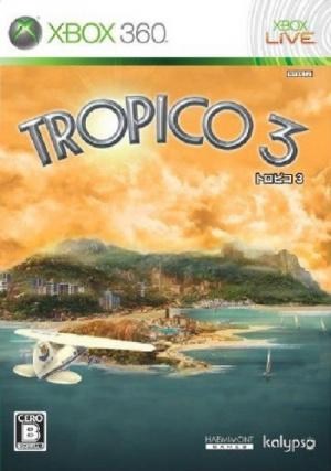 La boîte du jeu Tropico 3 censurée au Japon