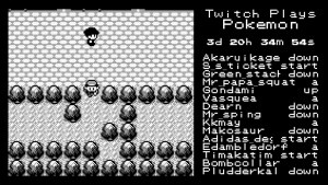Twitch Plays Pokémon : Versions anarchie / démocratie