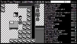 Twitch Plays Pokémon : Retour à Bourg Palette