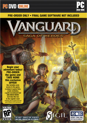 Vanguard : Saga Of Heroes : précommande et collector