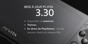 TGS : La PS Vita en 3.30 cet automne