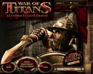 War of Titans débarque sur le web