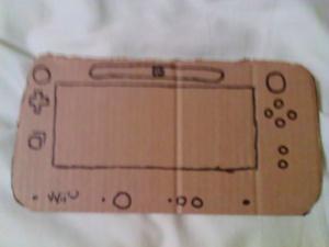 Un Wii U GamePad en carton pour 90.000 dollars