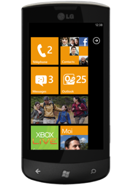 Un succès timide pour le Windows Phone 7