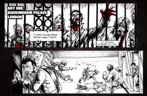 Un webcomic pour ZombiU