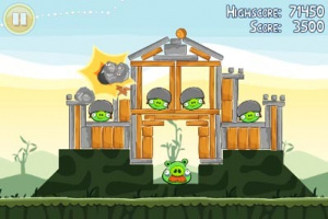 Angry Birds atterrit sur le PSN US