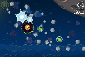 Angry Birds Space téléchargé 10 millions de fois