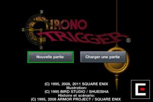 Chrono Trigger de sortie sur l'App Store