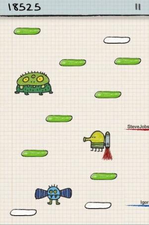 Doodle Jump : une mise à jour multijoueur