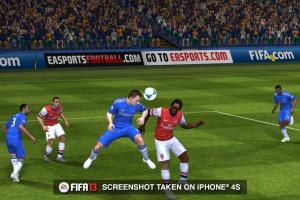 Images de la version iPhone de FIFA 13