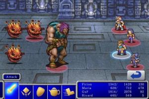 Final Fantasy I & II sur iPhone