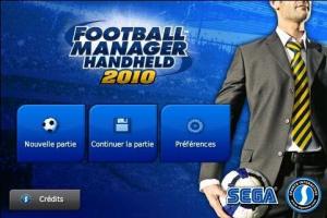 Football Manager 2010 déboule sur l'AppStore