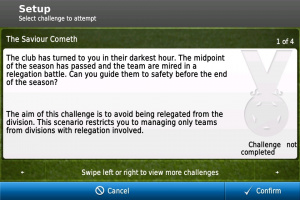 Football Manager Handheld 2012 disponible sur AppStore