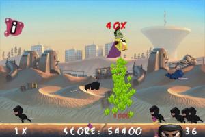 Free Zombie Hero - Kill Angry War Ninja le jeu le plus populaire de l'iPhone