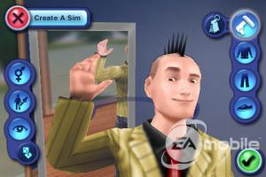Images des Sims 3 sur iPhone