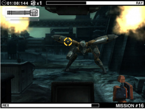 Metal Gear Solid Touch sur iPad