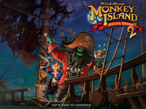 Images de Monkey Island 2 sur iPhone/iPod et iPad