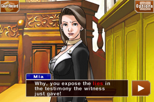Phoenix Wright Trilogy sur iOS