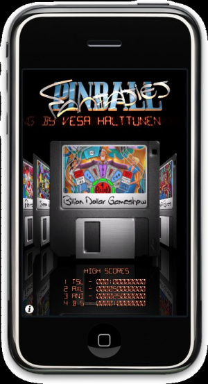 Pinball Fantasies sur iPhone