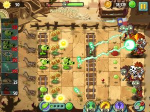 Plantes contre Zombies 2 s'illustre à nouveau