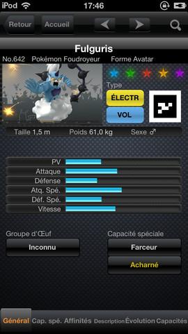 Pokédex débarque sur iOS en images