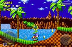 Sonic sur iPhone