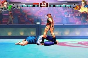 Cammy dans Street Fighter IV sur iPhone