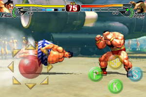 Images iPhone de Street Fighter IV