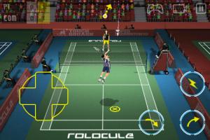 Rolocule Games lance Super Badminton 2010 sur l'iPhone