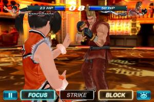 Tekken Card Tournament tape le carton