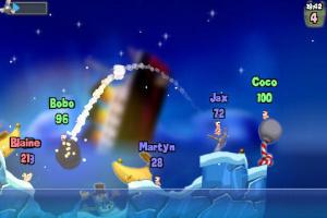 Worms disponible sur iPhone