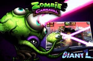 Un Carnaval de Zombies sur iPhone et iPad